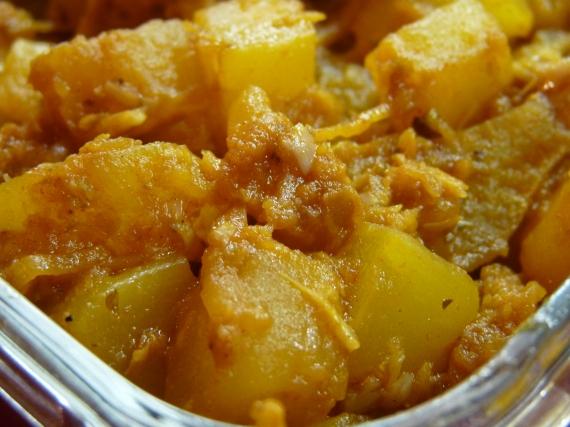 4- Calabaza al horno con majado de ajos y orégano