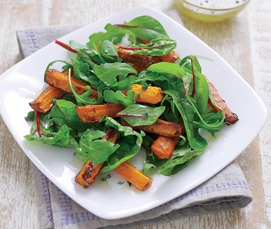 1- Ensalada de zanahoria templada