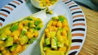 1b- Endivias con ceviche de mango