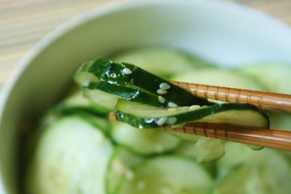 1- ensalada japonesa pepino sésamo
