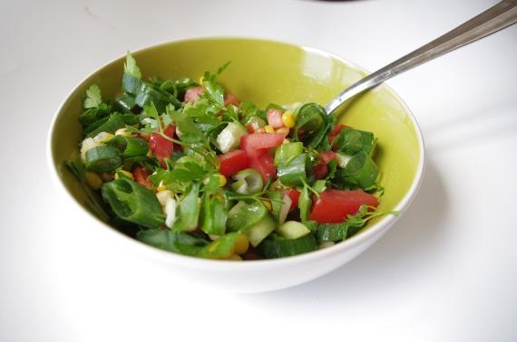 1- Ensalada de hortalizas