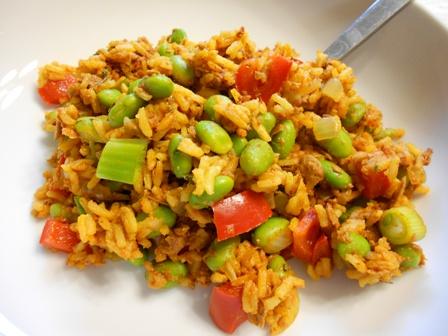 3- paella vegetariana