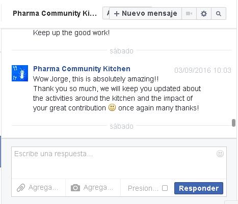 201608respuesta agradecimiento pharma community kitchen