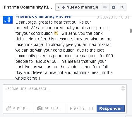 201608respuesta pharma community kitchen