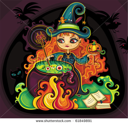 stock-vector-vector-illustration-of-young-funny-witch